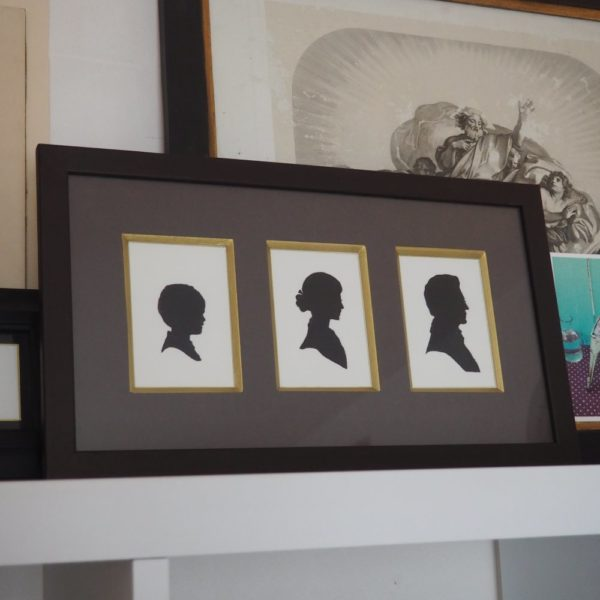 Triptyque silhouette